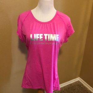 Women's Lifetime Fitness shirts. Size Large